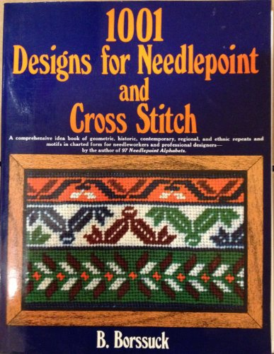 9780668042222: 1001 Designs for Needlepoint and Cross Stitch