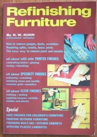 9780668043670: Refinishing Furniture