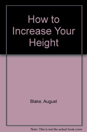 9780668043700: How to Increase Your Height