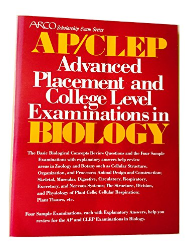 Advanced placement and college level examinations in: Arco Publishing Company