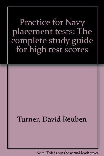 9780668045605: Practice for Navy placement tests: The complete study guide for high test scores