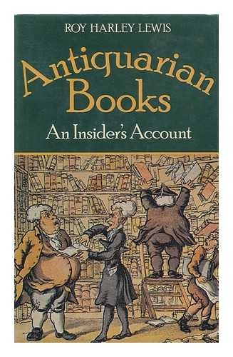 Antiquarian books: An Insider's Account