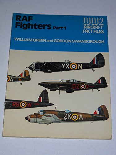 9780668046893: RAF Fighters, Part 1 (WW2 Aircraft Fact Files)