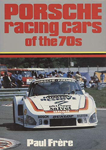 9780668051132: Porsche racing cars of the 70s