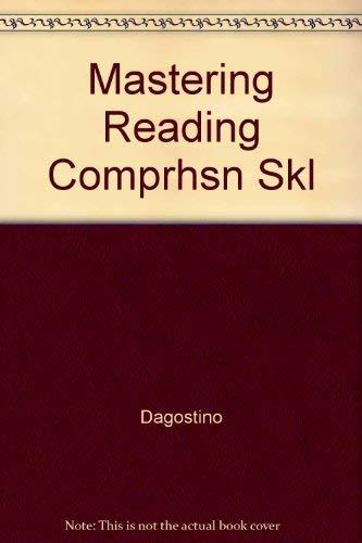 9780668051255: Mastering Reading Comprehension Skills