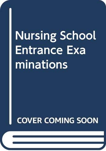 9780668052177: Nursing school entrance examinations (Arco Nursing & Allied Health Programs Entrance Exams)