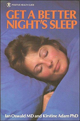 9780668053419: Get a Better Night's Sleep