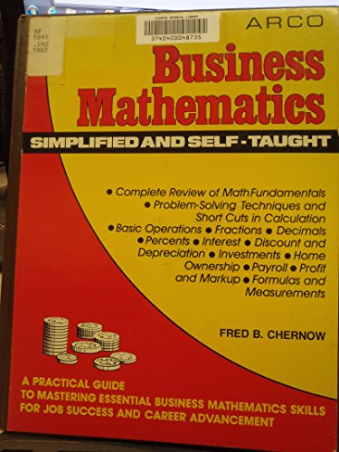 9780668053907: Business Mathematics: Simplified and Self-Taught