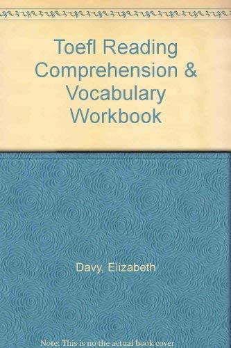 9780668055949: Toefl Reading Comprehension & Vocabulary Workbook