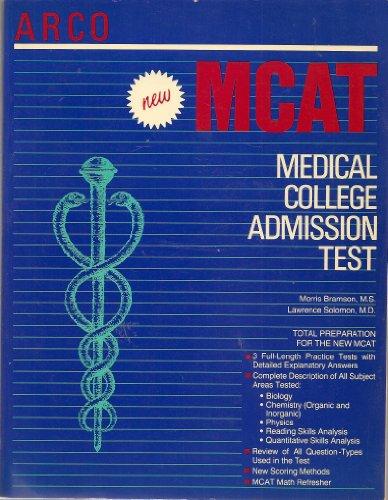 Medical college admission test: MCAT: Morris Bramson