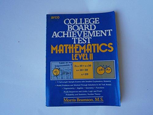 9780668056465: Cbat Math Level 11 Achiev Test (College Board achievement test)