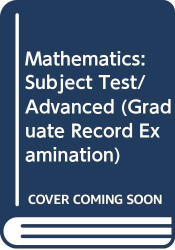 9780668056755: Mathematics: Subject Test/Advanced