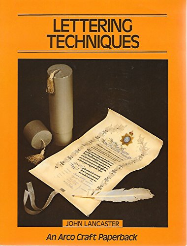 9780668057165: Title: Lettering techniques An Arco craft paperback