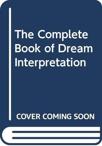 9780668057356: The Complete Book of Dream Interpretation