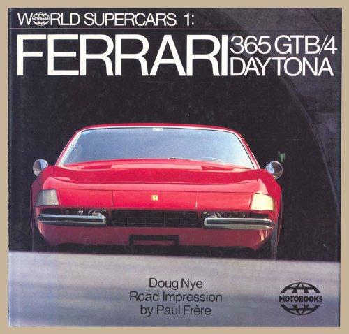 9780668058834: Ferrari 365 Gtb/4 Daytona: World Supercars One