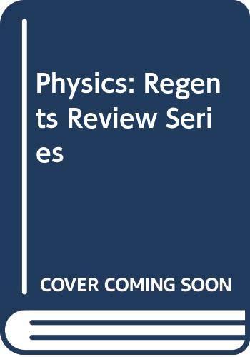 9780668059763: Physics: Regents Review Series (Arco regents review series)
