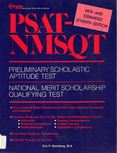 9780668061001: Psat-Nmsqt: Preliminary Scholastic Aptitude Test, National Merit Scholarship Qualifying Test (ARCO scholastic examination series)