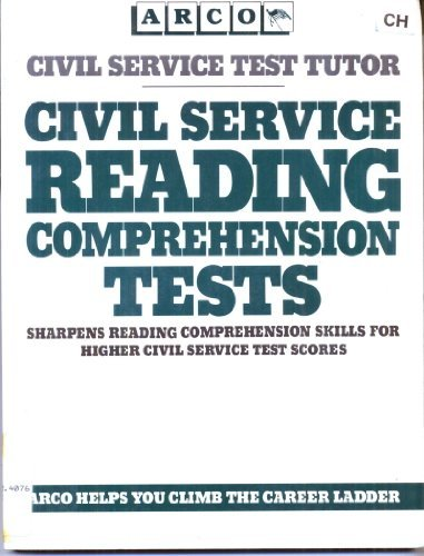 9780668064866: Civil Service Reading Comprehension Tests (Arco Civil Service Test Tutor)