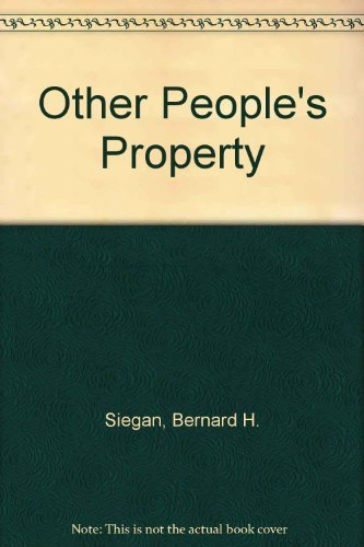 Other People's Property
