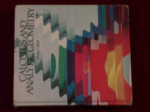 Calculus and analytic geometry: Gillett, Philip