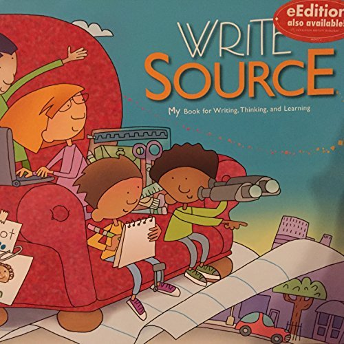 9780669006476: Write Source, A Book For Writing, Thinking, and Learning Grade 2 (Write Source Generation III)