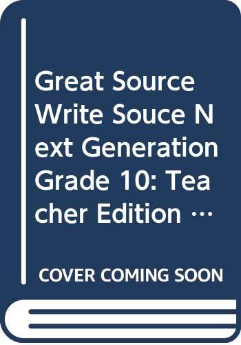 9780669006667: Write Souce: Teacher Edition, Grade 10