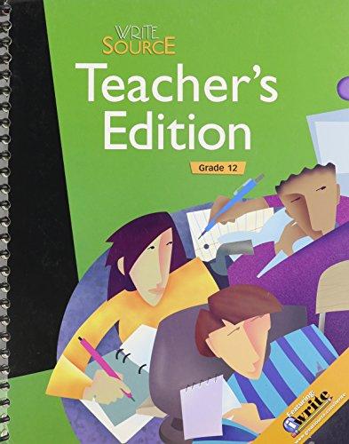 9780669006773: Great Source Write Source: Next Generation, Grade 12, Teacher's Edition