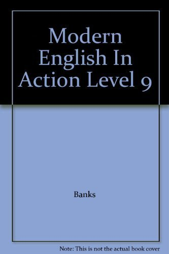 9780669007572: Modern English In Action Level 9