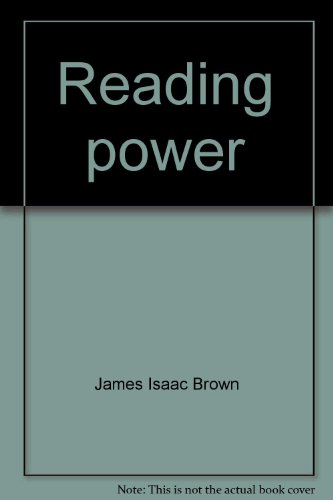 9780669007749: Reading power [Paperback] by James Isaac Brown