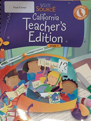 9780669007763: Write Source California: Teacher's Edition Grade 1 2007