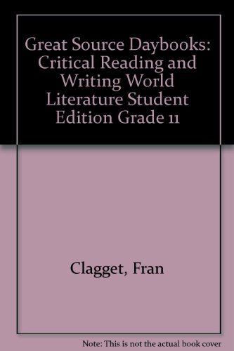 9780669008142: Great Source Daybooks: Student Edition Review Grade 11 2009