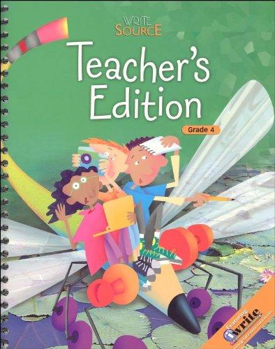 9780669008883: Great Source Write Source: Next Generation, Grade 4, Teacher's Edition