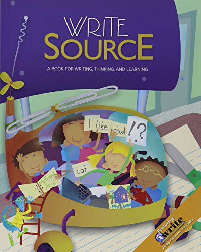 9780669008920: Write Source: Student Edition Softcover Grade 1 2009