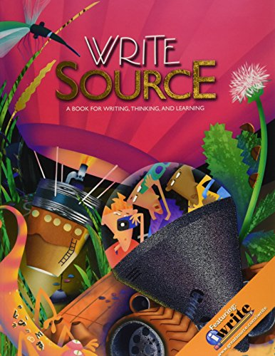 9780669009040: Write Source: Student Edition Softcover Grade 8 2009