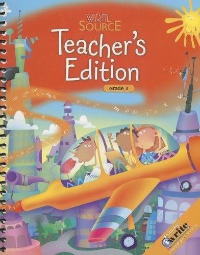 9780669009774: Write Source: Teacher Edition Grade 3 2009