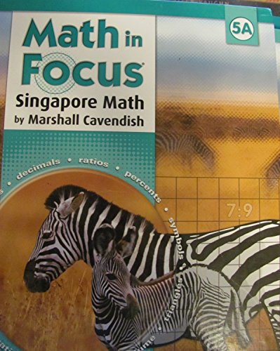 9780669010824: Math in Focus: Singapore Math - Student Edition, Grade 5