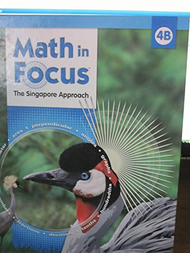 9780669010831: Math in Focus: Singapore Math: Student Edition, Book B Grade 4 2009