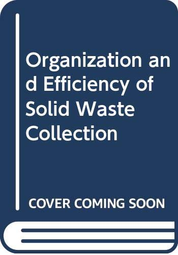 9780669010954: Organization and Efficiency of Solid Waste Collection