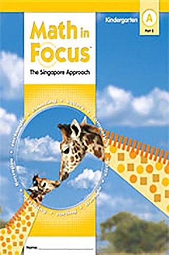 9780669011135: Math in Focus: Singapore Math: Student Edition, Book a Part 2 Grade K 2009