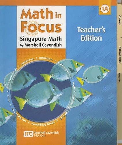 9780669013153: Math in Focus: Singapore Math Grade 1: Teacher's Edition
