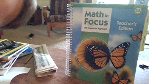 9780669013177: Math in Focus The Singapore Approach, Grade 3A, Teacher's Edition