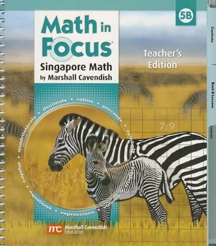 9780669013221: Math in Focus: Teacher's Edition, Book B Grade 5 2009