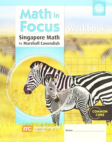 9780669013382: Math in Focus: Singapore Math: Student Workbook, Book B Grade 5