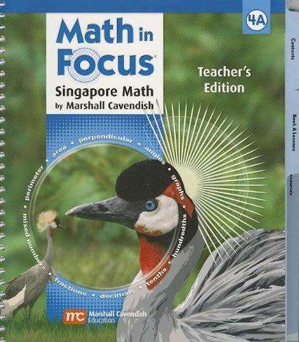 9780669013719: Math in Focus: Singapore Math Grade 4: Teacher's Edition