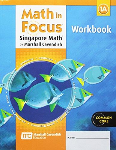 9780669013863: Math in Focus: Singapore Math: Student Workbook, Book A Grade 1
