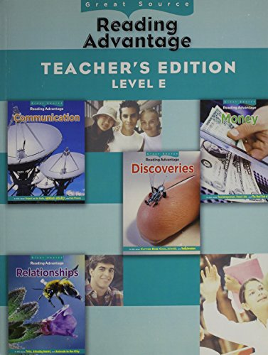 9780669013924: Great Source Reading Advantage: Teacher's Edition (Level E) 2009