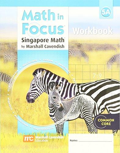 9780669013931: Math in Focus: Singapore Math: Student Workbook Grade 5 Book A