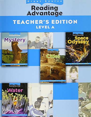 9780669014105: Great Source Reading Advantage: Teacher's Edition (Level A) 2009