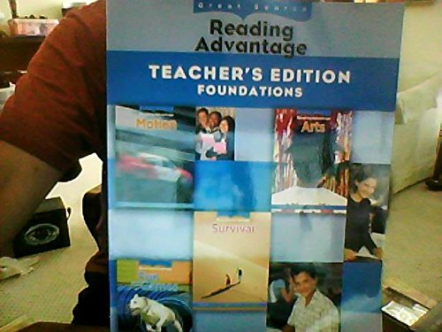 9780669014174: Great Source Reading Advantage: Teacher's Edition (Foundations) 2009