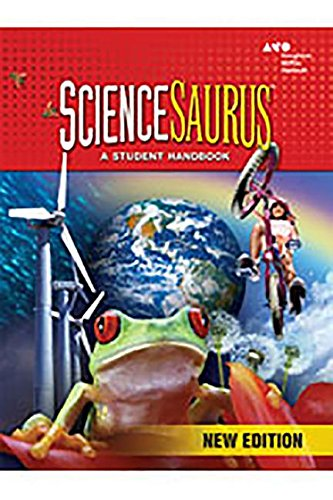 9780669014341: ScienceSaurus: Red Hardcover Grades 2-3 2009